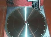 Disco profesional para concreto