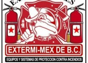 Equipo de extinguidores en tijuana estermimex