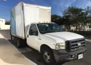 Ford f 350 super duty xl con caja cerrada cierre de cortina y elevador electrico gasolina manual