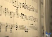 clases de piano. en domingo.