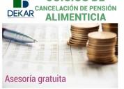 CancelaciÓn de pensiÓn alimenticia cdmx
