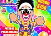 Ecatepec payasos alegria sonrisas y diversion