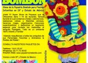 Show de payasita bombÓn® para fiestas infantiles