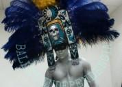 Espectacular show performance el azteca de plata para tu fiesta