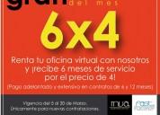 PromociÓn al 6x4 en oficinas virtuales