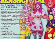 Payasos, el mejor show para tu fiesta - cdmx/edomx