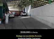 Bodega 2000m2/$100000 / inf 7771973776 satelite