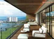 Departamento en pre venta puerto cancun antaal torre alpha 702 4 dormitorios