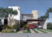 Hermosa casa residencial en privada en cholul 3 dormitorios 370 m2
