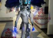Sensacional show performance el azteca de plata