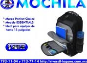 Mochila perfect choice essentials