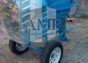 Revolvedora de 1 saco con motor de 14hp
