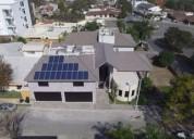 Venta de casa luxury con paneles solares valle de san angel lista 4 dormitorios 680 m2