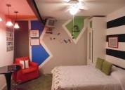 Renta de habitaciones desde $950.00 noche sur cdmx