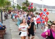 Clases de noruego, sueco, danés. profesor noruego.