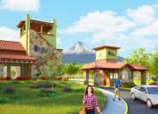 Casa de tres recÁmaras con vista a los volcanes