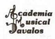 Conservatorio de piano