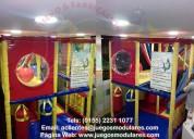 Juegos para salones de fiestas, centros de entretenimiento y franquicias, juegos modulares nacional