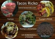 Tacos de trompo y bistek para eventos en monterrey