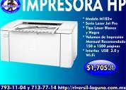 Impresora hp m102w