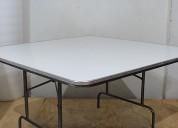 Venta de mesas cuadradas para eventos