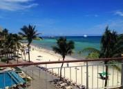 El faro reef 301 frente al mar en el corazon de playa del carmen 3 dormitorios