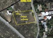 terreno en venta en col lomas de lourdes saltillo coah 3168 m2