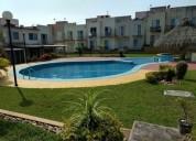 Playa dorada casa en renta 3 recamaras y albercas 3 dormitorios