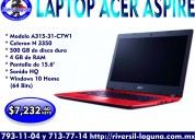 Laptop acer aspire a315-31-c7w1