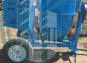 Revolvedora para concreto capacidad de un 1 saco