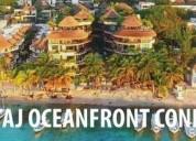 departamento en venta playa del carmen el taj oceanfront 317 2 dormitorios