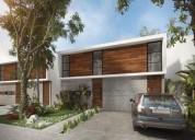 casa de tres habitaciones en nuevo exclusivo residencial en quintana roo