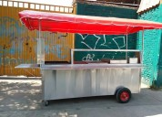 Carro pastorero para tacos