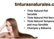 Tinturas naturales 100% naturales sin ppd