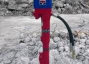 Martillo demoledor hidráulico hycon hh35 en venta