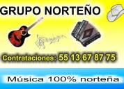 Grupo norteÑo 4 elementos    044 55 13 67 87 75