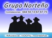 Grupo norteÑo 55 13 67 87 75 con 4 elementos