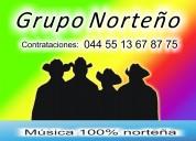 Grupo norteÑo contrata al 55 13 67 87 75