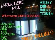 Barra libre m&c 1 todo incluido