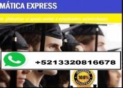 Resolución de examenes y parciales al whatsapp