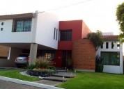 Casa en venta en campestre morillotla en san andrés cholula