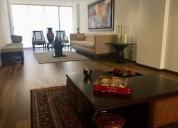 Renta departamento amueblado en calle bernard shaw polanco 2 dormitorios