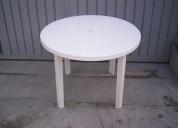 Mesa desmontable plastica