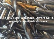 Compro endmills scrap de carbide en tijuana