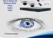 Sistema de videovigilancia cctv para casa u oficin
