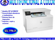 Multifuncional hp m180nw laser a color
