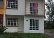 Hermosa casa de oportunidad bancaria en residencial del bosque precio a tratar 3 dormitorios 65 m2