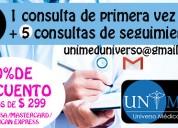Promocion en consultas de nutricion unimed (oferta