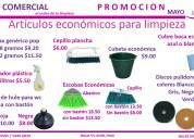 Aprovecha: artículos de limpieza económicos
