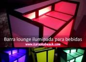 Renta de rockolas actualizadas con luces y salas